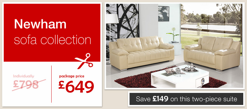 cream leather sofas newham settees