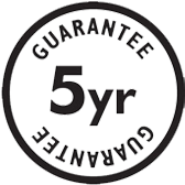 Free 5 year guarantee on all fabric and leather sofas